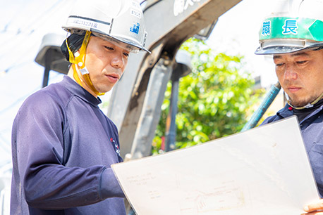 工事中の時間厳守と安全確認